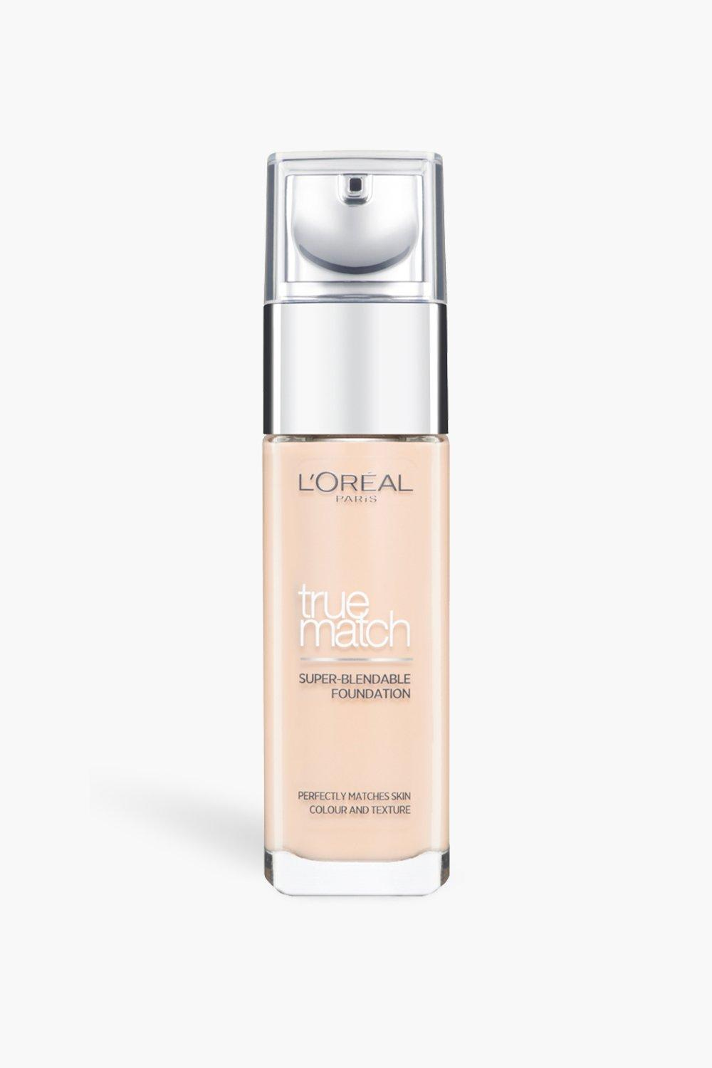 womens l'oreal true match foundation ivory - white - one size