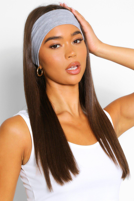 womens 2 pack basic headband - multi - one size