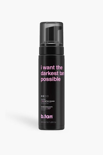 B Tan I Want The Darkest Tan Self Tan Mousse