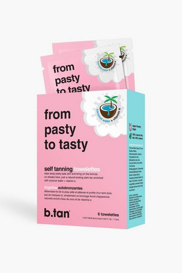 B Tan Pasty To Tasty Self Tanning Towelettes