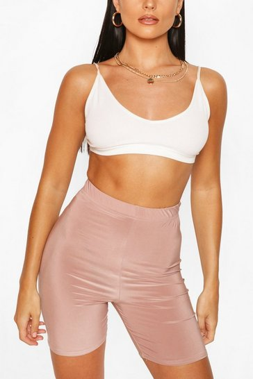 Rose HIGH WAIST SLINKY CYCLING SHORT