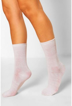 White 3 Pack Sports Socks