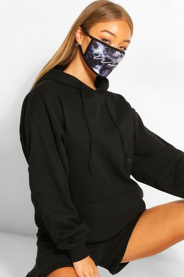 Black Woman Script Fashion Face Mask