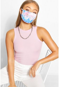 Tie Dye Fashion Face Mask, Multi