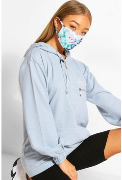 Multi Tie Dye Fashion Face Mask