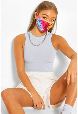 Multi Fashion mask med paisleymönster
