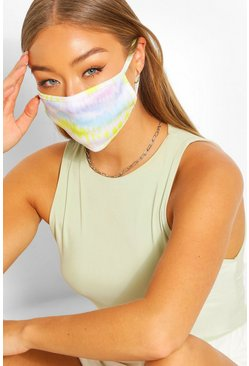 Tie Dye Fashion Face Mask , Multi