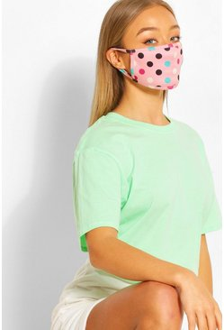 Pink Prickig fashion mask