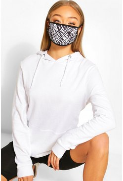 Black Animal Fashion Face Mask