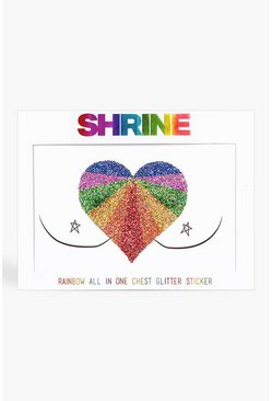 Multi Shrine Rainbow Body Sticker