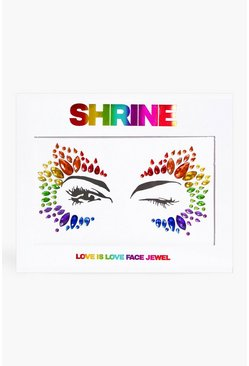 Multi Shrine Love Is Love Face Jewel