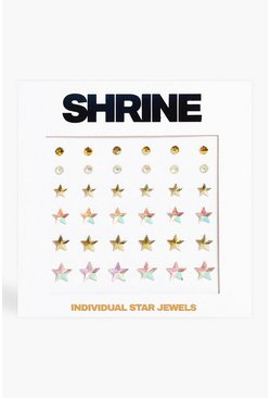 Multi Shrine Individual Star Face Jewels