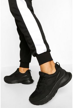 Black Chunky Trainers