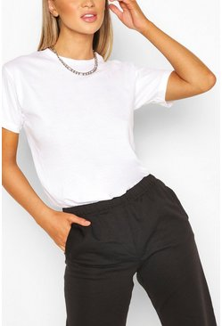 Basic Oversized t-shirt, White