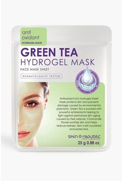 White Skin Republic Green Tea Hydrogel Face Mask