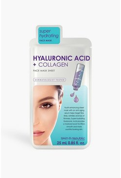 White Skin Republic Hyaluronic Acid Collagen Mask
