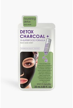 White Skin Republic Superfood Charcoal Face Mask