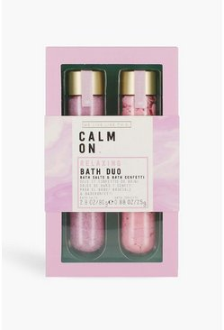 WLLT Calm On Bath Duo Test Tubes, Pink