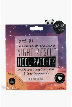 Oh K! Night Rescue Heel Patches , Multi