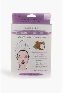 Multi Coconut Oil Infused Hair Turban