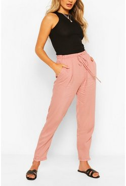 Relaxed Fit Casual Jogger, Blush