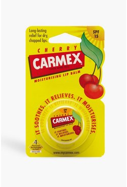 Yellow Carmex Lip Balm Cherry Pot