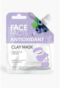 Mascarilla de barro Face Facts - Antioxidante, Morado