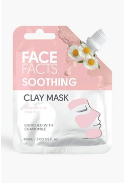 Pink Face Facts Clay Mud Mask - Soothing