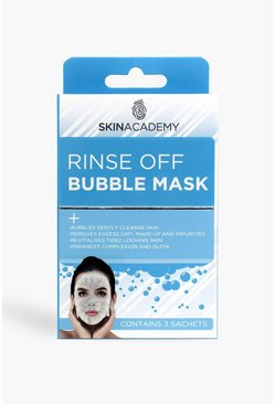 Blue Skin Academy Bubble Mask