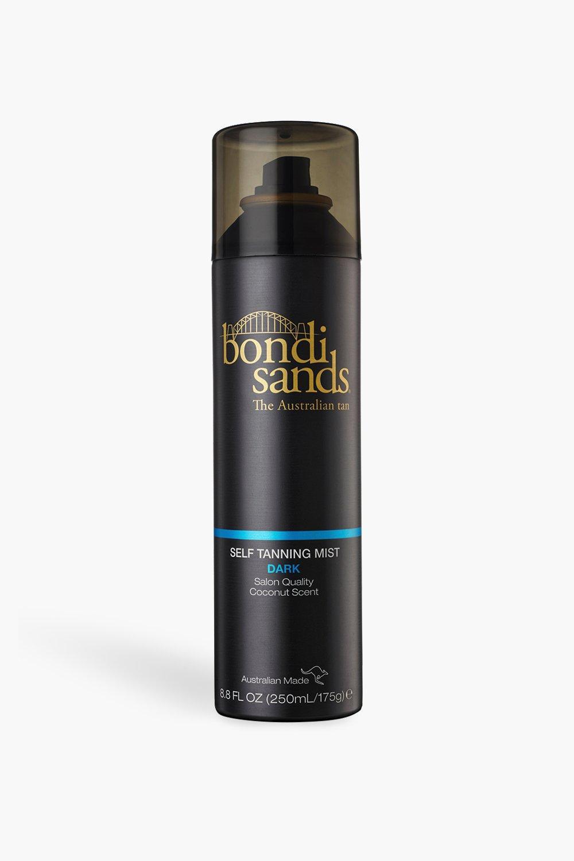 womens bondi sands self tanning mist - dark 250ml - black - one size