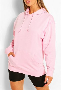Pink Recycled Oversized Hoodie