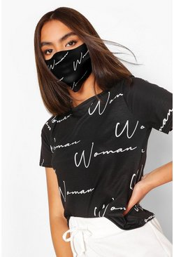 Black Woman Fashion mask