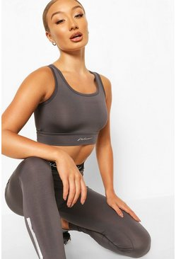 Charcoal Active Sports Bra