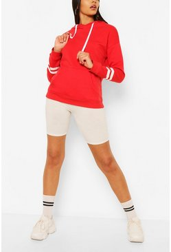 Basic Red Hoody