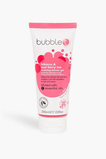 Red Bubble T Shower Gel Hibiscus & Acai Berry Tea