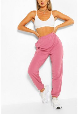 Rose Loopback Oversized Relaxed Joggers