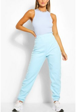 Baby blue Supersoft Fleece Sweat Joggers
