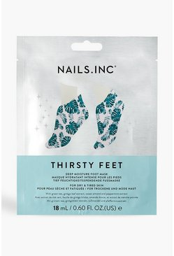 Nails Inc Thirsty Feet Mask , Silver
