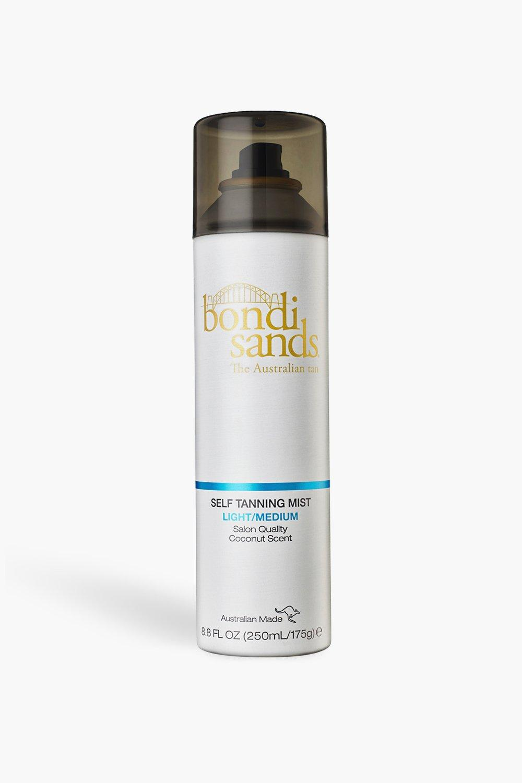 womens bondi sands self tanning mist - light/medium - white - one size