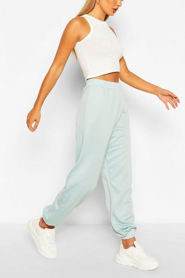 Duck egg blue Recycled Loopback Joggers