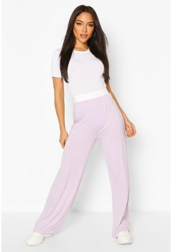 Lilac Everyday Wide Leg Trouser