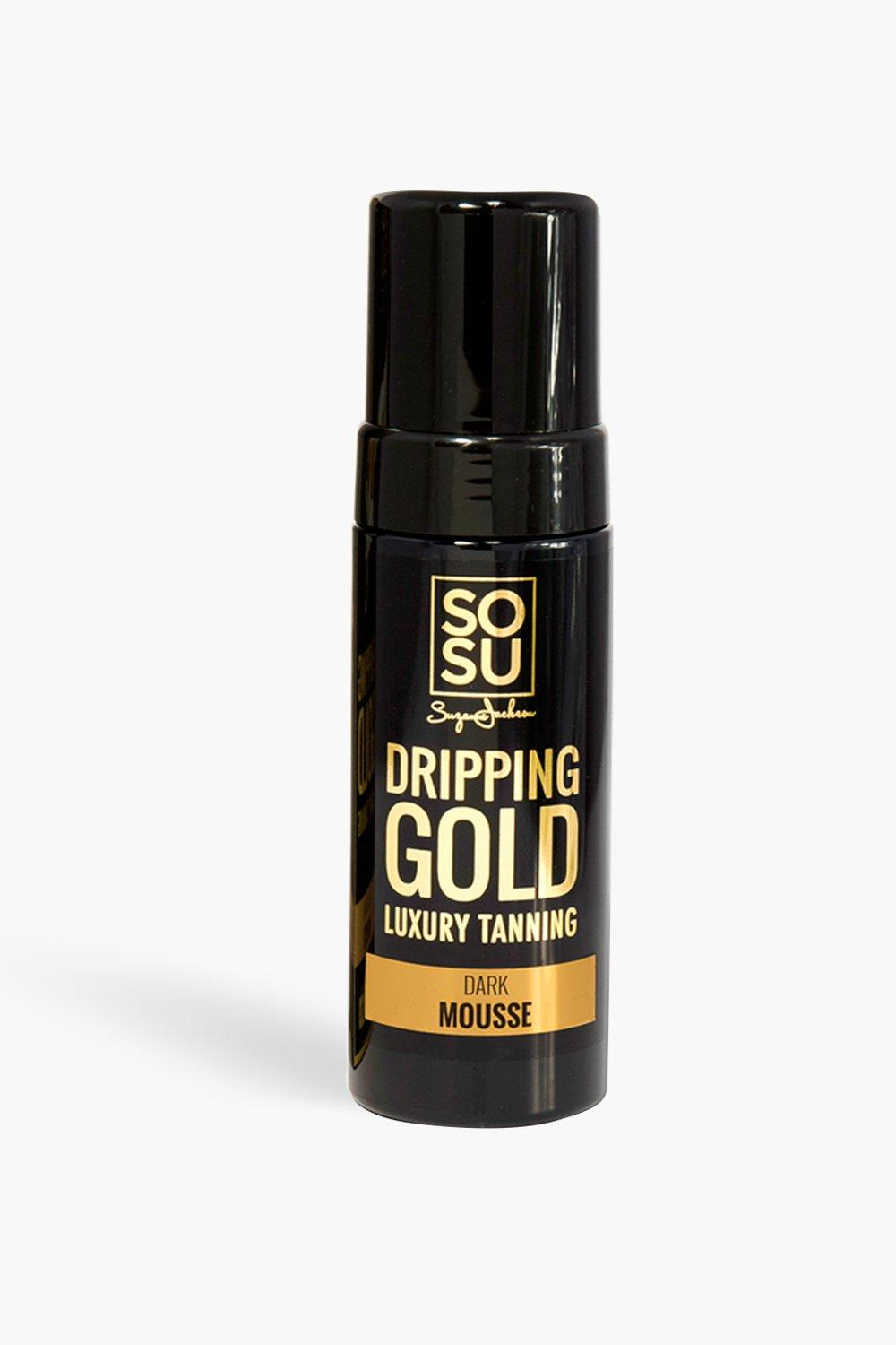 Image of Mousse scura Dripping Gold SOSU, Nero