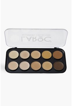 LaRoc 10 Colour Contour Palette, Black