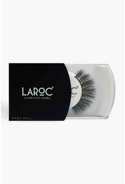 Black LaRoc 3D Silk Lashes - Baby Doll