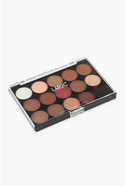 Black LaRoc 15 Colour Eyeshadow Palette Warm