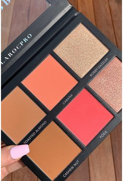 LaRoc The Sculpt and Glow Face Palette , Black