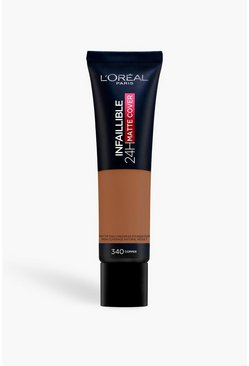 Brown L'Oreal Paris Infallible Foundation 340
