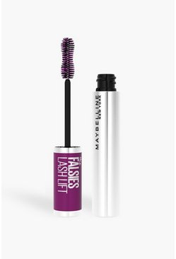 Silver Maybelline The Falsies Mascara 01 Black