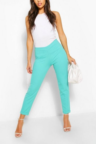 Aqua Turn Up Cuff Tailored Trouser