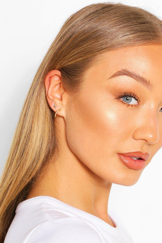 womens stud earring 20 bumper pack - metallics - one size